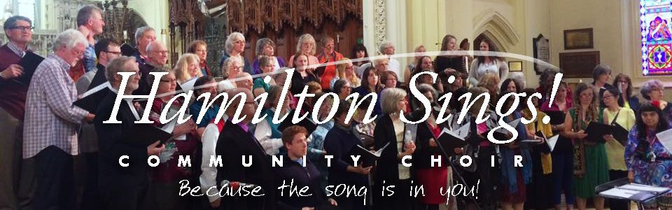 Hamilton Sings! Community Choir